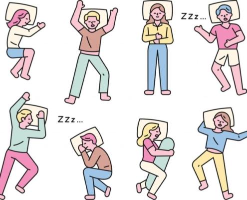 Care este cea mai bună poziție de dormit când ai dureri de spate? Pozitie somn dureri lombare spate
