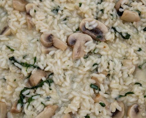Orez cu Ciuperci și Leurdă - Vegan, de Post, Ușor și Rapid